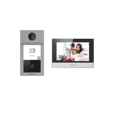 Комплект IP-видеодомофона Hikvision DS-KIS604-P